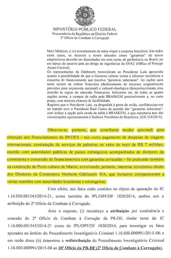 MPF Investigação parte 1 (Foto: reprodução)