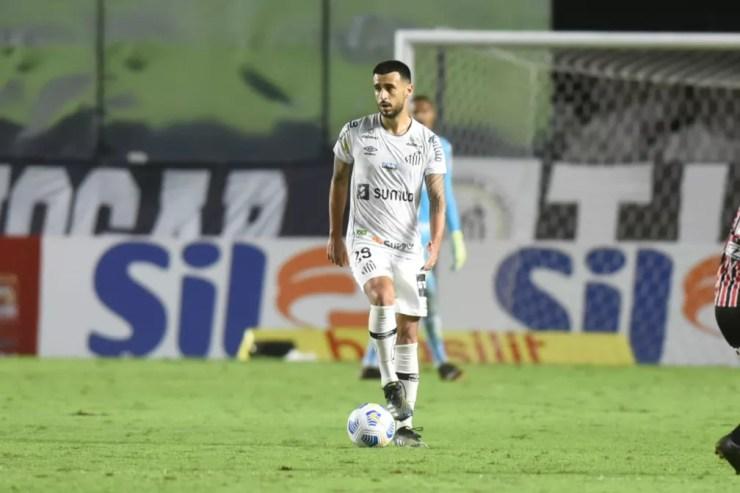Camacho em Santos x São Paulo — Foto: Ivan Storti/Santos FC