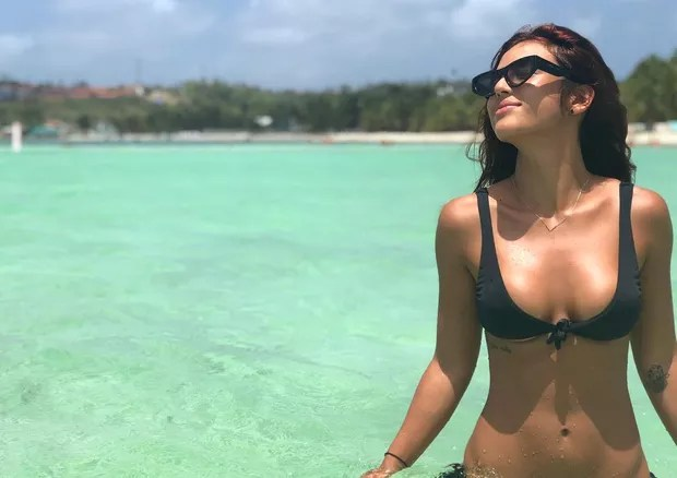 Yanna Lavigne se despede da Colômbia com clique paradisíaco (Foto: Reprodução/Instagram)