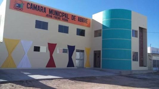 Câmara de Vereadores de Abaré — Foto: Reprodução/Facebook
