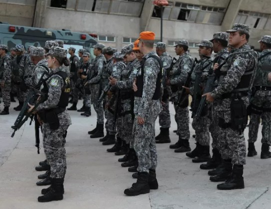 Força Nacional em São Luís (Foto: O Estado)