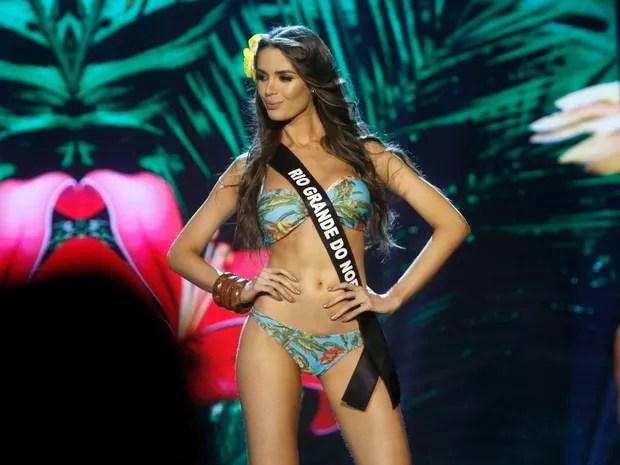 Danielle Marion, do Rio Grande do Norte, no Miss Brasil 2016 em São Paulo (Foto: Celso Tavares/ EGO)