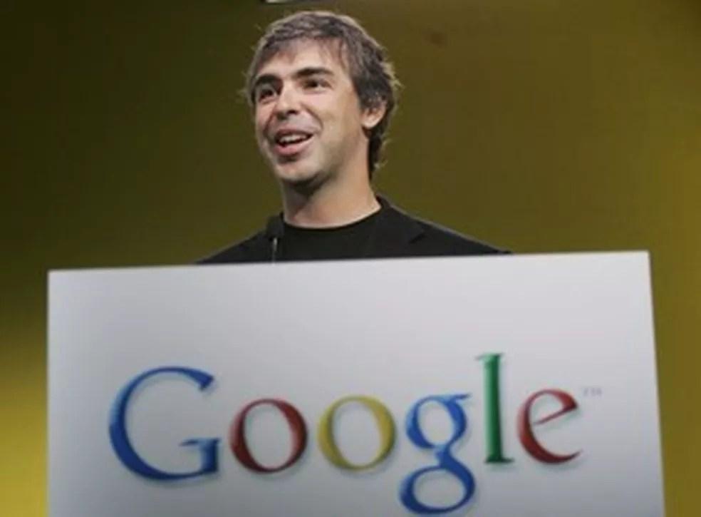 Larry Page  — Foto: Paul Sakuma/AP