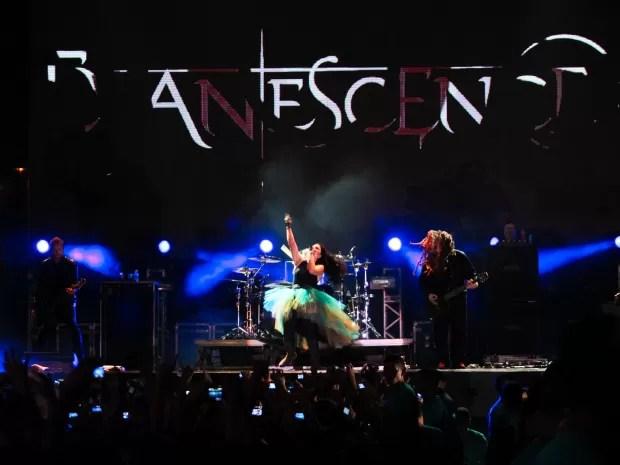 Evanescence passou com a turnê do último disco em cinco capitais brasileiras (Foto: Alana Andrade/Divulgação)
