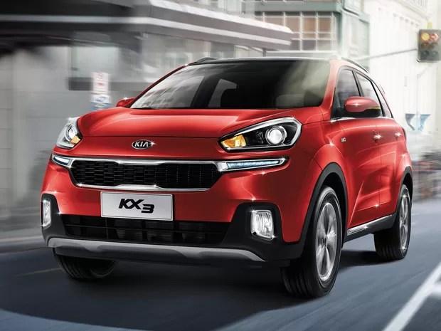 Novo Kia KX3, SUV compacto da marca coreana (Foto: Divulgação)