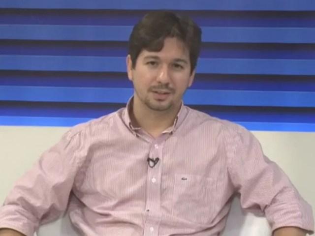 Secretário municipal da Semtcas, Samuel Silveira. (Foto: Reprodução/ TV Clube)