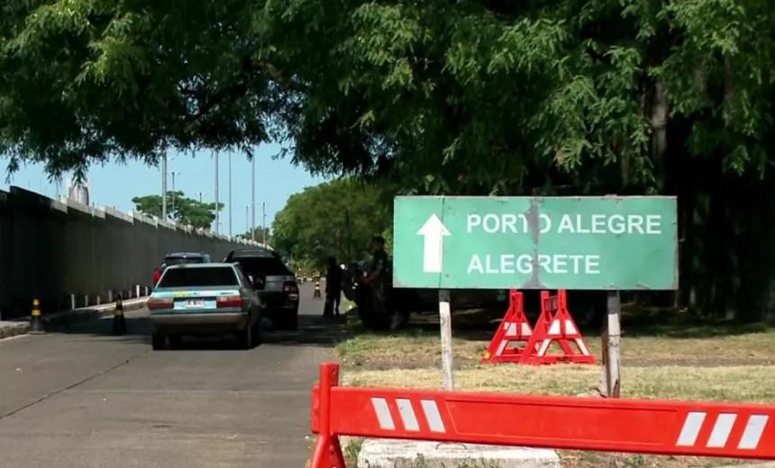 Ações do Exército na fronteira devem seguir até o fim de dezembro (Foto: Reprodução/RBS TV)