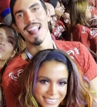 Anitta and Gabriel David (Photo: Instagram Reproduction)