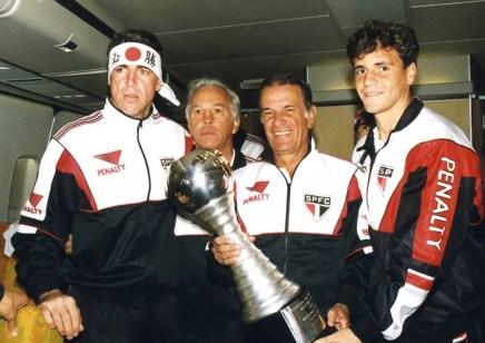 Telê Santana comandou o São Paulo que conquistou o título mundial de 1992 (Foto: Divulgação)