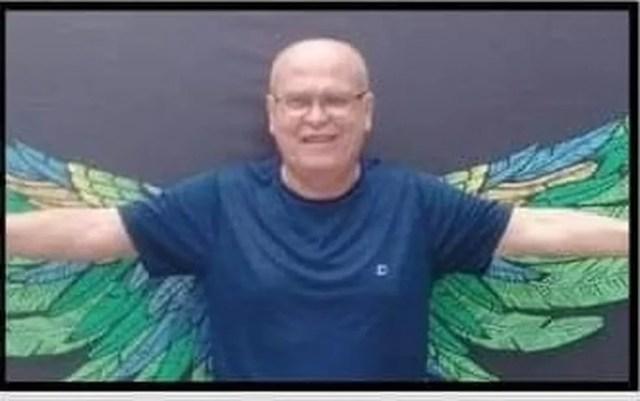 Ademar Bispo de Araújo, de 64 anos, venceu um câncer, mas morreu de Covid-19 em Mato Grosso — Foto: Sintep/Assessoria
