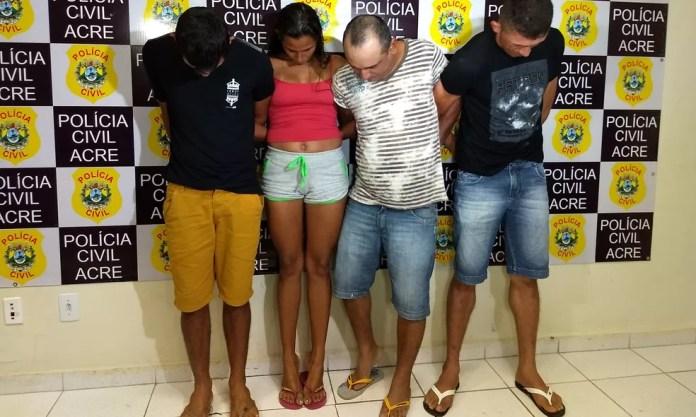 Grupo seria responsável por distribuir drogas na região do bairro São Francisco (Foto: Aline Nascimento/G1 )