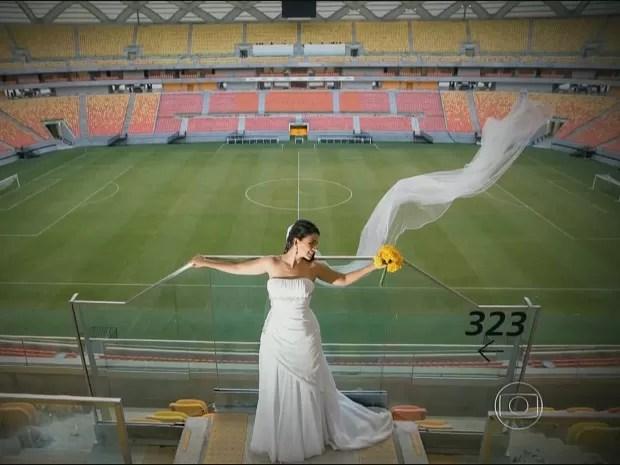 Casamento está previsto para acontecer dia 21 de junho (Foto: Reprodução/TV Amazonas)