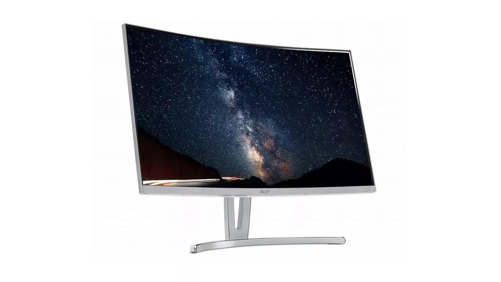 Acer lança monitor curvo ED273 Awidpx de 27 polegadas com bordas mínimas | Monitor | TechTudo