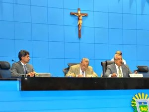 Proposta de reajuste salarial da PM foi votada e aprovada na Assembleia Legislativa de MS (Foto: Tatiane Queiroz/ G1MS)