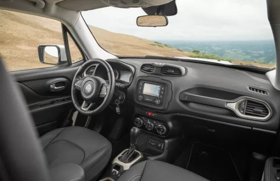 Novo Jeep Renegade 2017 - Interior