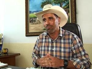 Prefeito de Pircanjuba admite ter batido na filha, Goiás (Foto: Reprodução/TV Anhanguera)