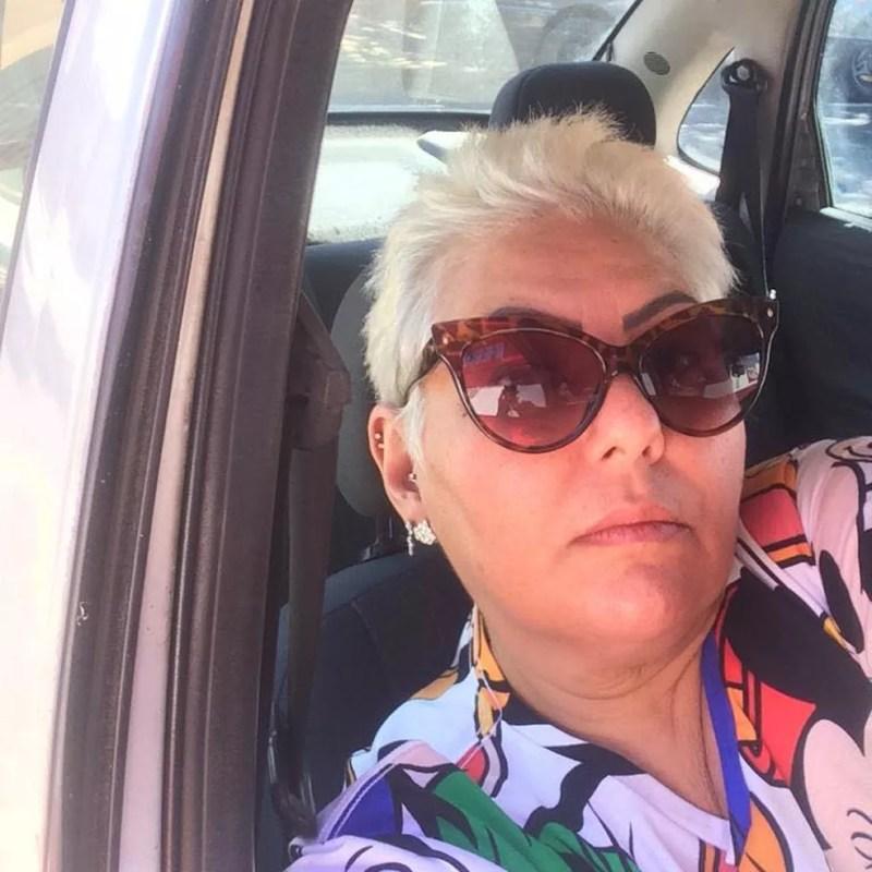 Valéria Cristina, de 51 anos, morreu após ser esfaqueada por companheiro — Foto: Redes Sociais/Facebook