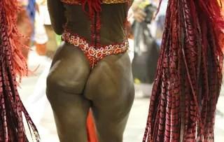 Bumbum de Ketula Mello, rainha de bateria da Porto da Pedra (RJ) (Foto: Marcos Serra Lima / EGO)