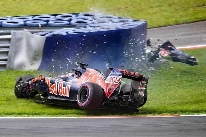 Daniil Kvyat bateu forte no treino classifcatório para o GP da Áustria (Foto: EFE)