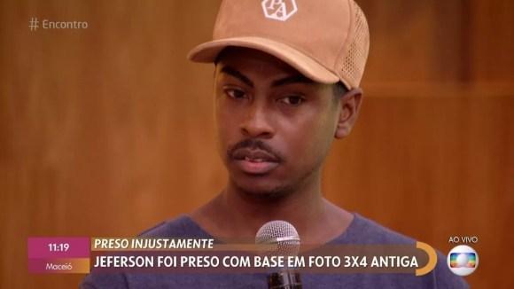 Preso injustamente, Jeferson Pereira da Silva desabafa após sair da cadeia: 'Esses seis dias foram uma eternidade'