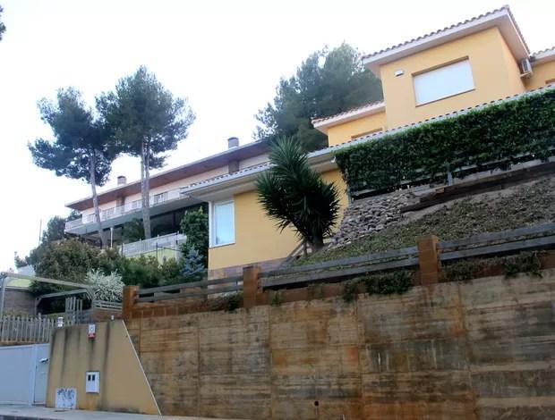 casa lionel messi em barcelona (Foto: Cahê Mota / Globoesporte.com)