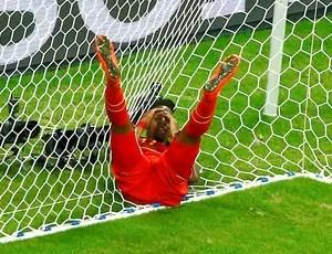 Divock Origi jogo Estados Unidos x Bélgica Arena Fonte Nova (Foto: Reuters)