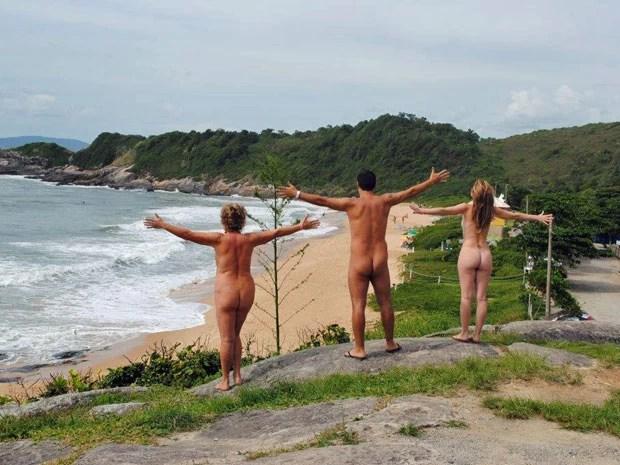 Excursão Naturistas pelo Brasil, viagem de motor home feita por um grupo de nudistas (Foto: Divulgação/Portal Brasil Naturista)