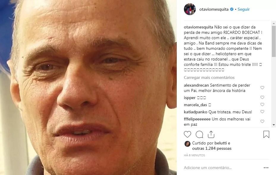 Otavio Mesquita (Foto: Reprodução Instagram)