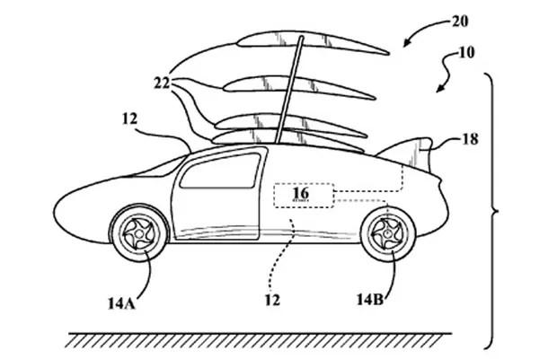 Toyota registra patente de carro voador nos Estados Unidos