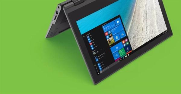 Acer TravelMate Spin B1 vem com o Windows 10 S (Foto: Divulgação/Acer)