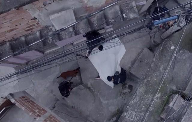 Rubinho é morto e Sabiá é preso (Foto: TV Globo)