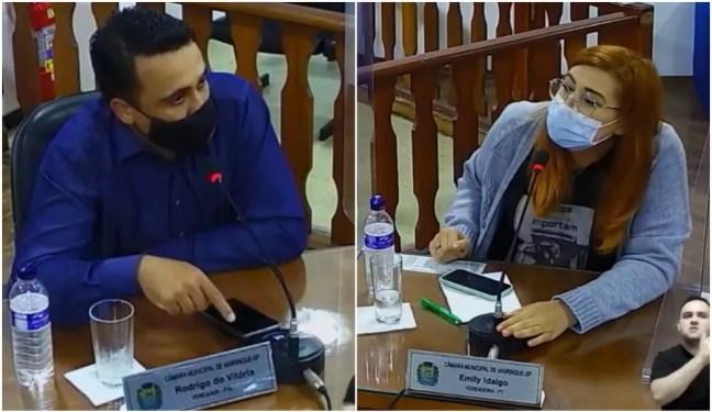 Vereador diz que pessoas LGBTQIA+ morrem porque 'andam com nóia e bandido' durante sessão em Mairinque (SP) — Foto: Reprodução