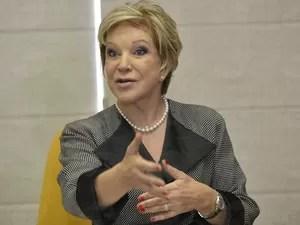 Ministra da Cultura, Marta Suplicy, anuncia 500 bolsas para interessados em áreas de humanas. (Foto: Reprodução/Agência Brasil)