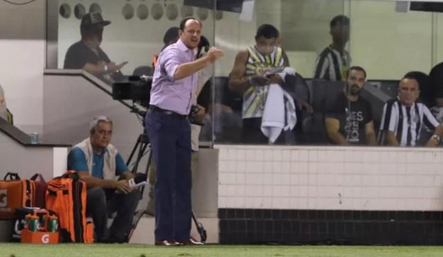 Rogério Ceni Santos x São Paulo (Foto: Rubens Chiri/saopaulofc.net)