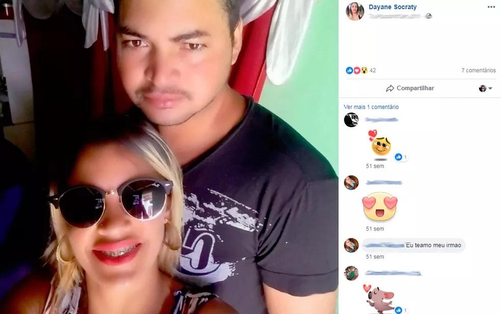 Casal morre após acidente de moto na BR-101 — Foto: Reprodução/Facebook