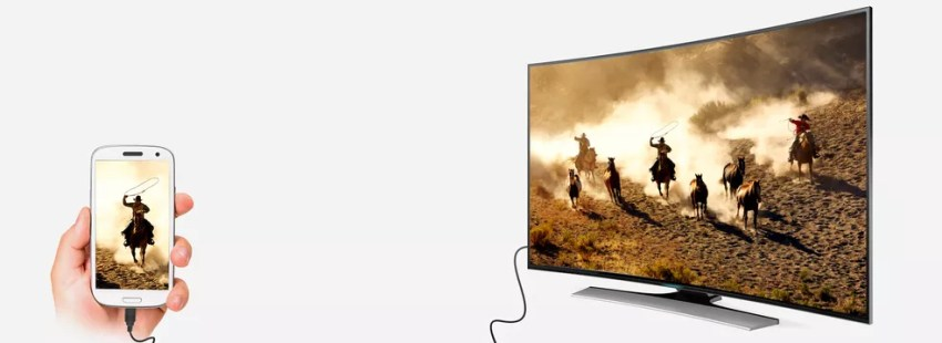 Dispositivo MHL permite fazer conexão do celular à televisão, usando entrada HDMI. — Foto: Divulgação/MHL