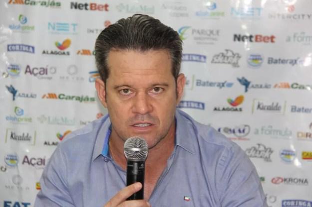Argel Fucks disse que Fortaleza soube aproveitar os erros do CSA — Foto: Denison Roma/GloboEsporte.com