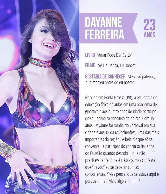 Saiba mais sobre Dayanne Ferreira (Foto: Arte: Thays Malcher)