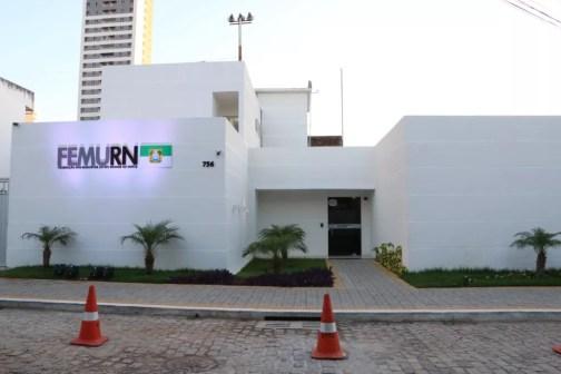 Sede da Femurn, Federação dos Municípios do Rio Grande do Norte — Foto: Demis Roussos