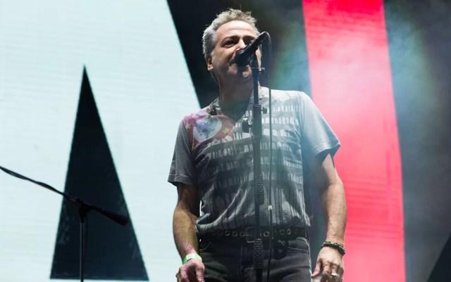 Nasi e banda Ira! devem cantar sucessos como 'Envelheço na Cidade' e 'Flores em Você' (Foto: Érico Andrade/G1)