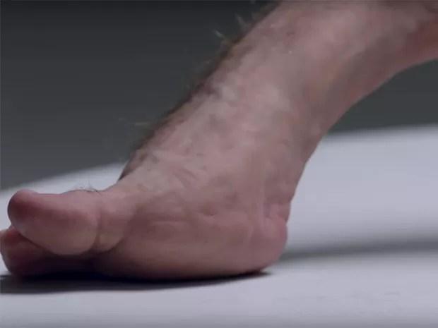 Graham tem pés reforçados (Foto: Divulgação)