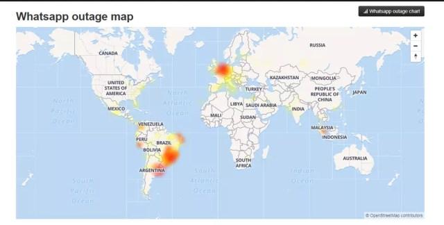 Facebook, WhatsApp e Instagram têm problemas nesta quarta-feira 2