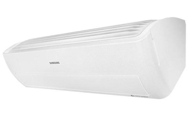 Ar-condicionado Split Digital Inverter Frio Wind Free, da Samsung — Foto: Divulgação/Samsung