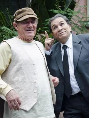 Dupla inseparével: Renato Aragão e Dedé Santana (Foto: Globo)