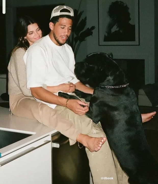 Kendall Jenner and Devin Booker (Photo: Reproduction: Instagram)