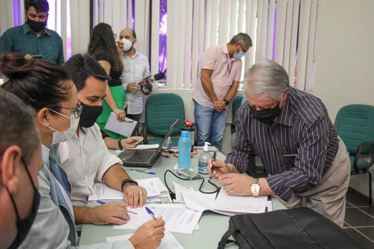Leilão foi realizado em abril e empresa arremetou o empreendimento por R$ 25,8 milhões — Foto: José Caminha/Secom/arquivo