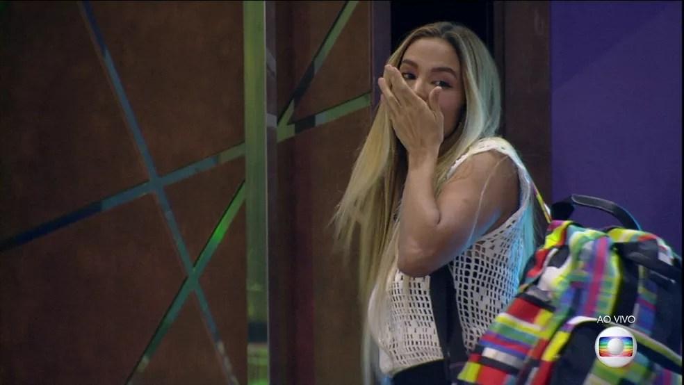 Kerline deixa o BBB21 com 83,50% dos votos — Foto: Globo