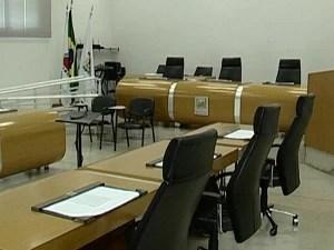 Recesso na Câmara de Araxá está sendo discutido  (Foto: Reprodução/TV Integração)