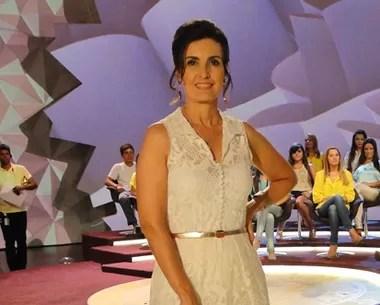 Look do dia 31/12 (Foto: Encontro com Fátima Bernardes/TV Globo)
