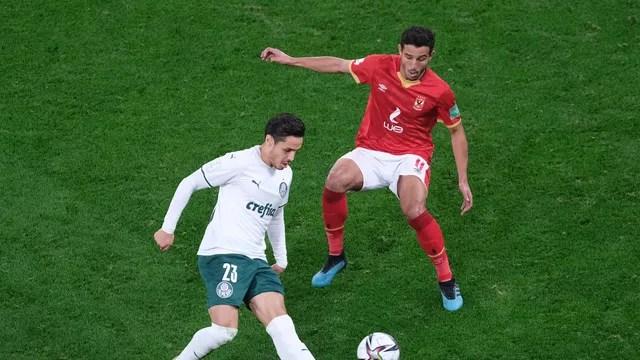 Raphael Veiga em Al Ahly x Palmeiras